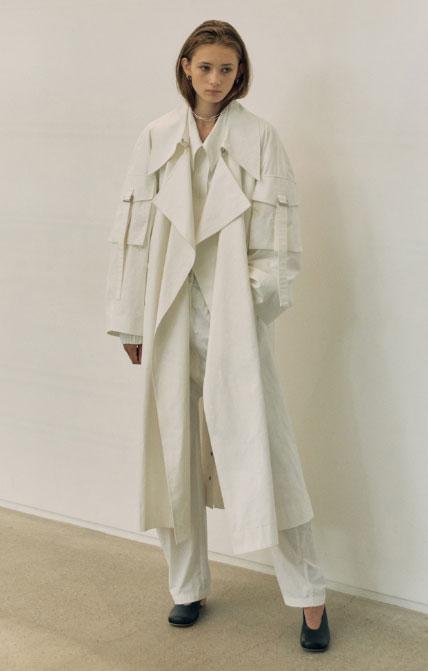 LOW CLASSIC女装品牌2020秋冬慵懒风百搭长款外套