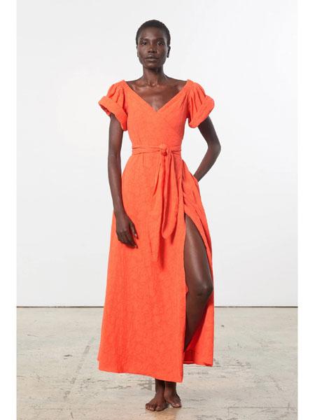 marahoffman国际品牌复古小众连衣裙
