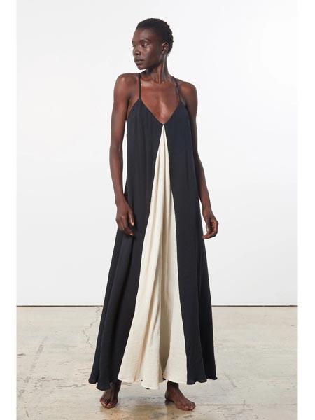 marahoffman国际品牌时尚清爽吊带裙