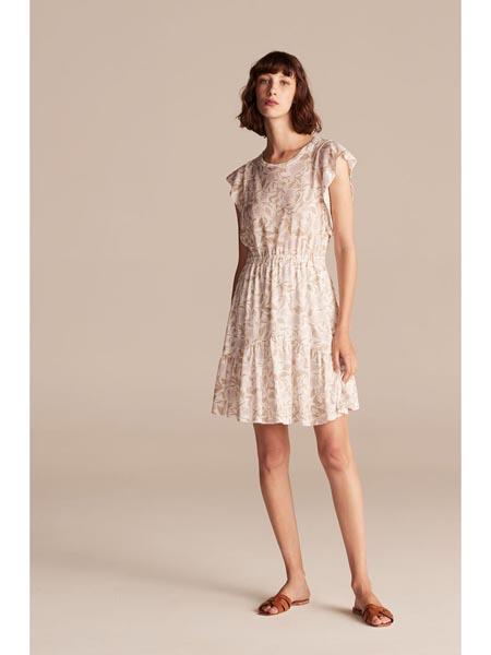 rebeccataylor国际品牌甜美收腰连衣裙