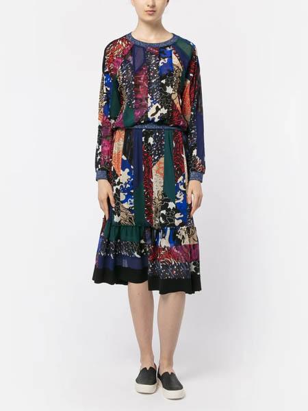 viviennetam国际品牌民族风设计感●连衣裙