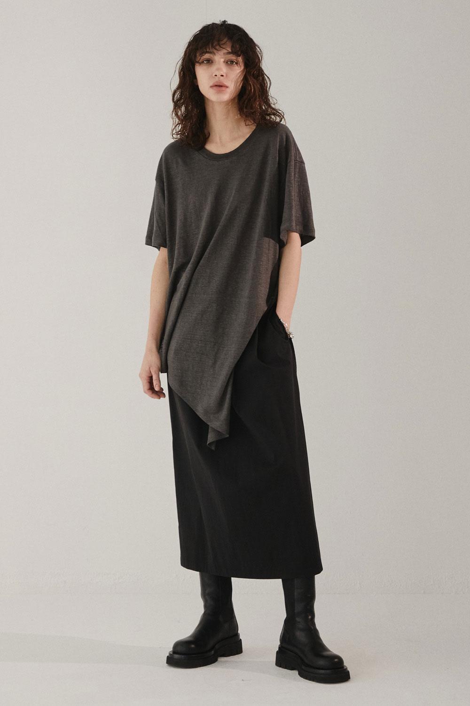MAISON MARAIS女装品牌2020秋季街头范不规则T恤