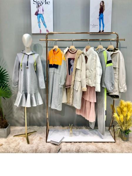 杭州女装之一女王【韩序】神货上新了,韩序让女人更美丽,品牌折扣尾货品牌店铺展示