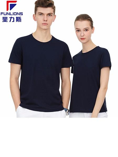 斐力斯F2205男士女士运动休闲圆领短袖T恤