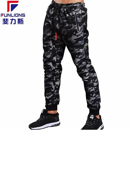 斐力斯F37男士运动休闲迷彩长裤