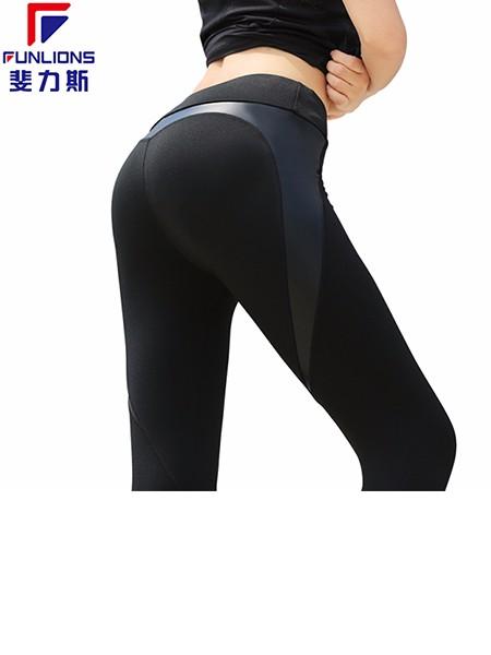 斐力斯F1003女士运动休闲紧身长裤