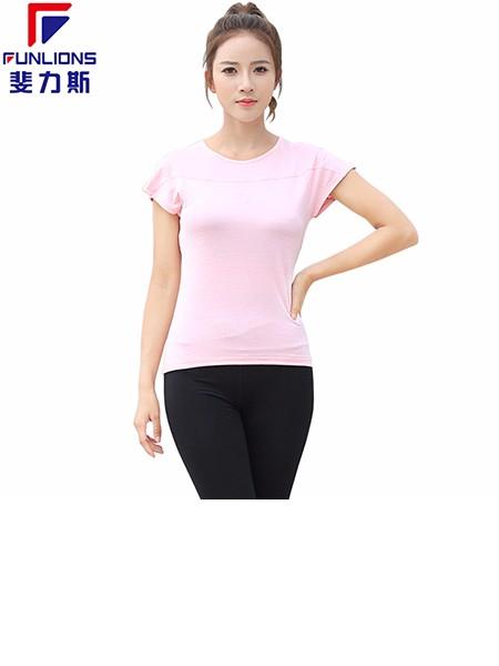 斐力斯F1011女士运动健身休闲短袖T恤