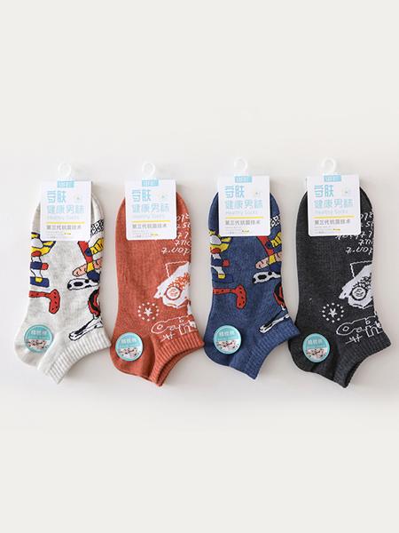 SOFU舒工坊袜子品牌2020春夏四色男袜子