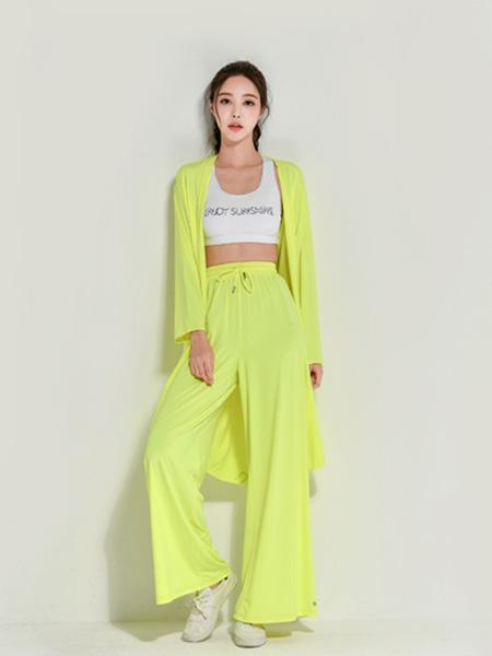VVC休闲品牌2020春夏绿色防晒衣套装