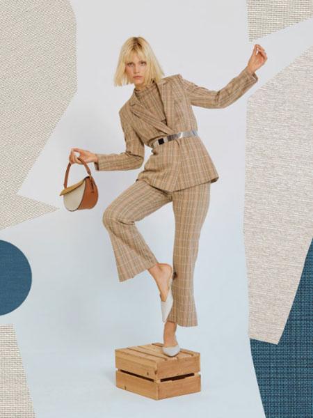 朗黛国际女装品牌2020秋冬OL长袖套装