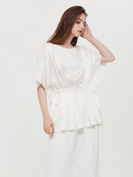2020春夏RAOYIN2020夏季新款女装100%桑蚕丝真丝宽松衬衫我就先走一步百搭多色可选