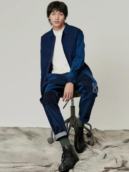 樸術男装品牌2020秋季深蓝衬衫外套