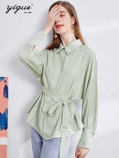 2020秋季2020秋季新款简约系腰带收腰衬衫设计感小众港式复古上衣女潮
