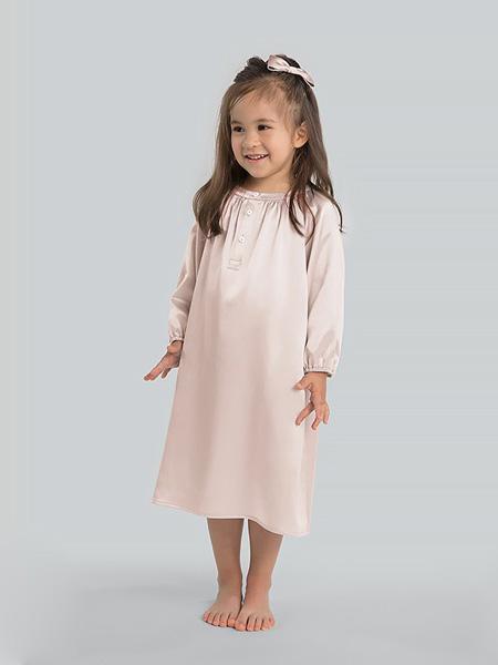 MANITO内衣品牌2020春夏粉色修身连衣裙