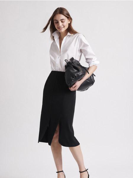GERARD DAREL女装品牌2020秋季黑白上衣包臀裙