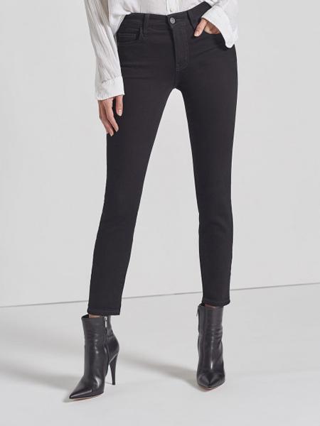 CURRENT/ELLIOTT裙/裤品牌2020秋冬黑色高腰裤
