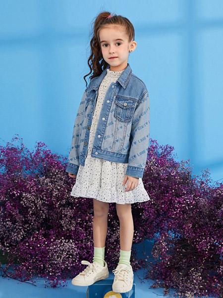 gxgkids童裝品牌2020秋冬藍色牛仔外套