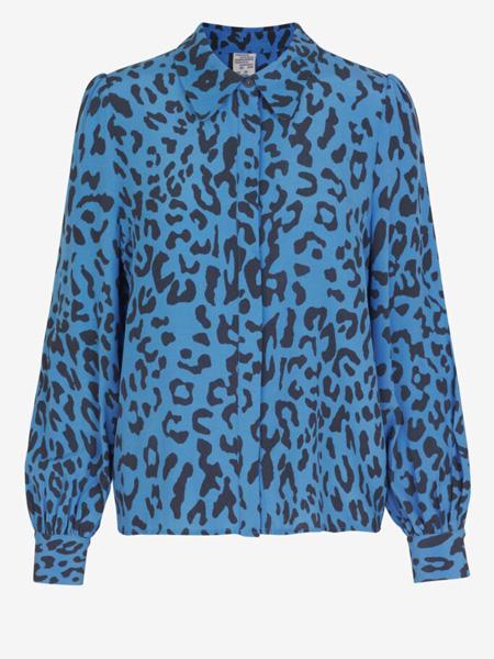 Baum und Pferdgarten女装品牌2020秋季蓝色斑点上衣