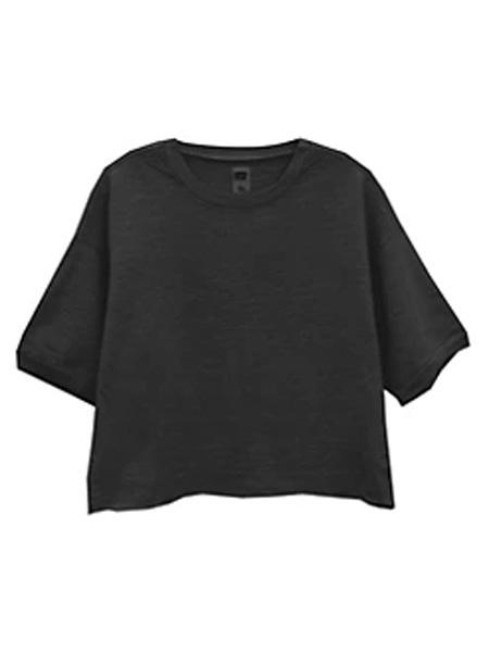 Saks Fifth Avenue女装品牌2020秋冬美国国家科学基金会Guerro短袖运动衫
