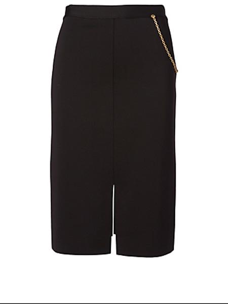 Holt Renfrew女装品牌2020秋季吉文奇铅笔裙配链条细节