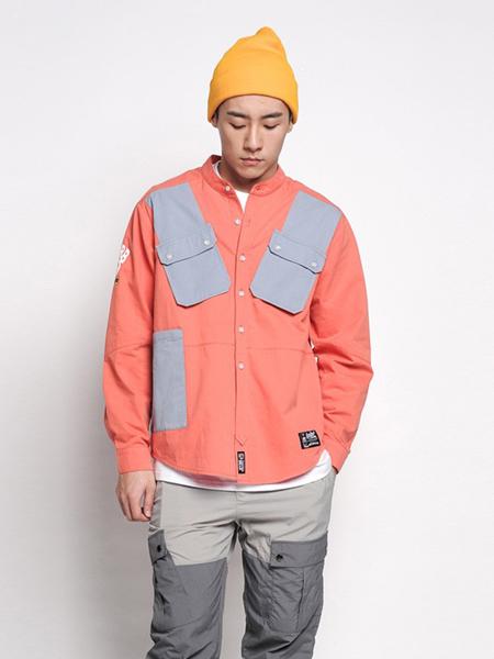 LIGHTNINGBEAR(LNBR/熊電)男装品牌2020秋冬橙色时尚外套