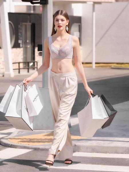 芭妃莎内衣品牌2020秋季白色性感内衣