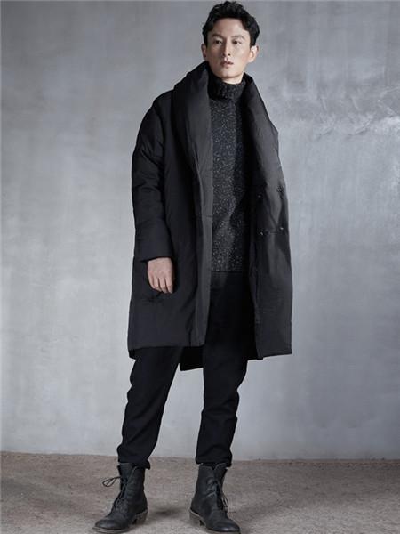 北纬30度男装品牌2020秋冬个性棉衣
