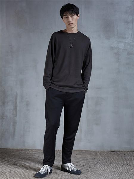 北纬30度男装品牌2020秋冬日系长袖衬衫