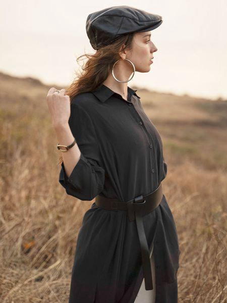 薇薇希女装品牌2020秋冬 收腰长外套
