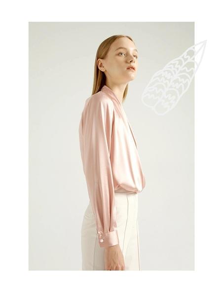 吉芬女装品牌2020秋季慵懒风衬衫