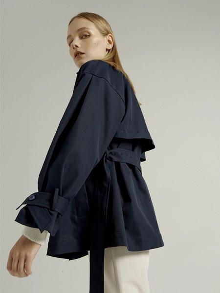 吉芬女装品牌2020秋季休闲短款外套