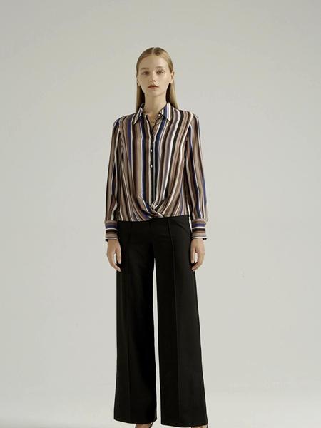 吉芬女装品牌2020秋季纯色长裤