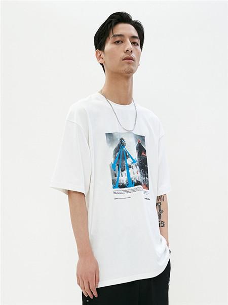 Unbreakable休闲装男装品牌2020春夏印花T恤
