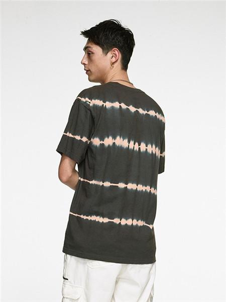 Unbreakable休闲装男装品牌2020春夏条纹T恤
