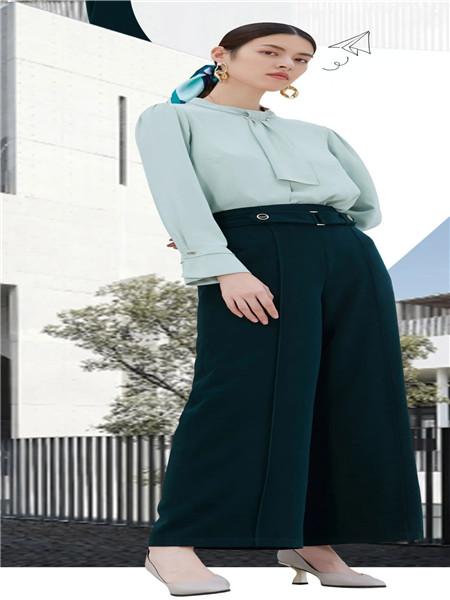 佳纷女装品牌2020秋季小清新衬衫