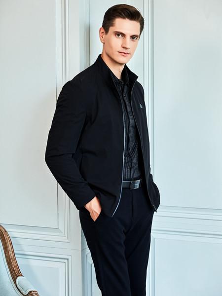 爱迪丹顿男装 帅气满溢黑色外套 触发怦然心动的荷尔蒙