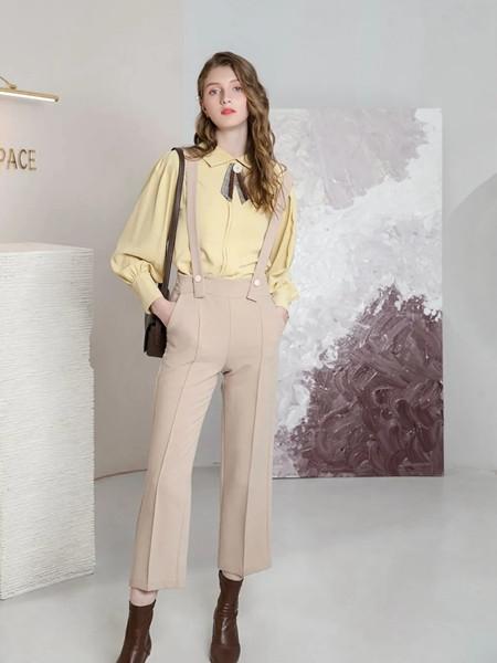 十八淑女坊女装品牌2020秋季小清新吊带裤