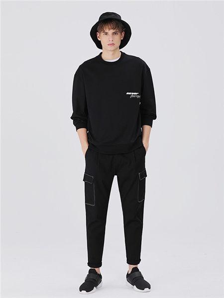 MARKLESS男装男装品牌2020秋冬商务纯色衬衫