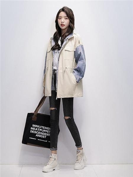 凯尔布拉迪女装品牌2020秋冬韩版纯色外套
