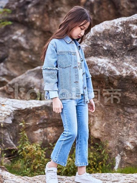 淘帝童装品牌2020秋冬复古牛仔外套
