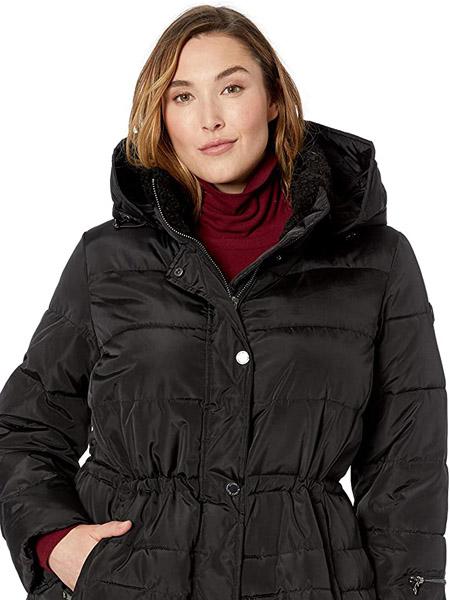 rachelroy国际品牌2020秋季时尚黑色带帽外套