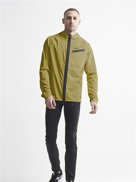 CRAFT运动装男装品牌2020秋季纯色个性外套