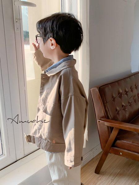 小嗨皮童装品牌2020秋冬复古长袖外套