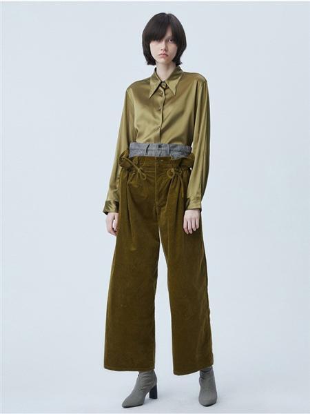 江南布衣女装品牌彩38平台2020秋季纯色长袖开衫上衣