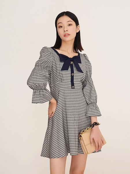 MixBlu迷丝布女装品牌2020秋冬连衣裙