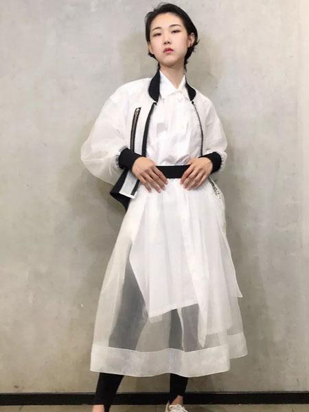 limifeu国际品牌2020秋季白色个性外套