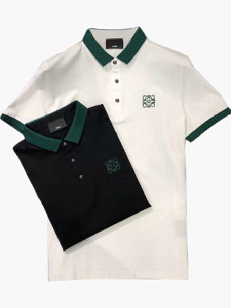 希儿顿男装品牌2020春夏T恤衫