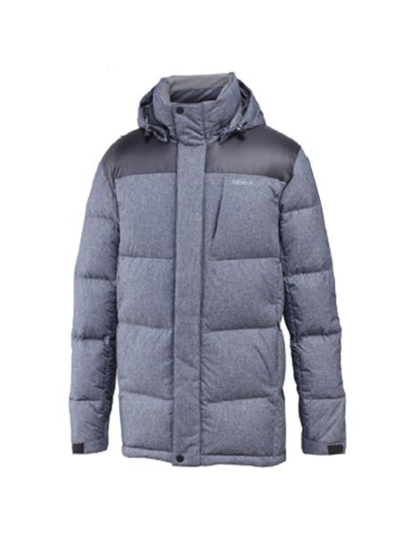 merrell国际品牌2020秋冬灰色拼接羽绒服