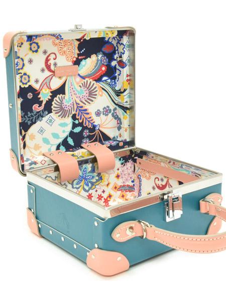 globe-trotter国际品牌2020秋季青色女士行李箱