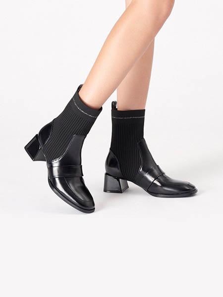 接吻猫鞋帽/领带品牌2020秋冬皮鞋